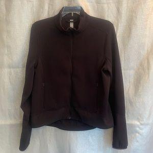 Lululemon athletic jacket black size 10